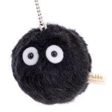 "My Neighbor Totoro Soot Sprite Dust Bunny 3"" Mini Plush Doll Key Chain"