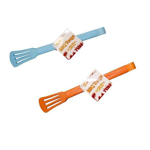 Colourful Bbq Tongs Assorted Colours - Boyztoys Ry811 Outdoors Heat Resistant -  boyztoys ry811 outdoors heat resistant barbecue tongs blue orange new