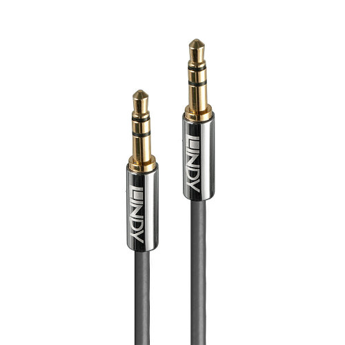 Lindy 35321 audio cable 1 m 3.5mm Anthracite