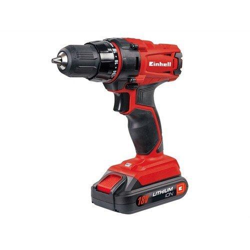 Einhell 4513846 TC-CD 18-2 Li Drill Driver 18 Volt 1.3Ah Li-Ion