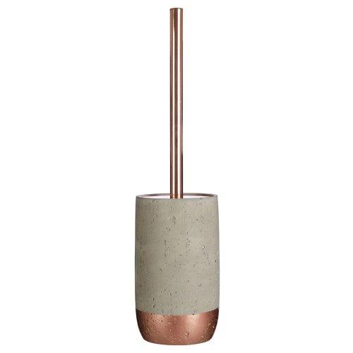 Neptune Copper Toilet Brush & Stand Set