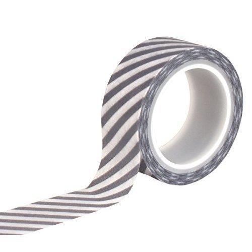 Hello Winter Decorative Tape navy Stripe