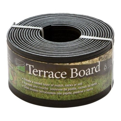 Master Mark 94420 Terrace Board Landscape Edging  4 in. x 20 ft.
