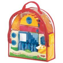 HABA Wonder Dice Fabric Blocks - 11 Soft Blocks with Different Textures and Sounds