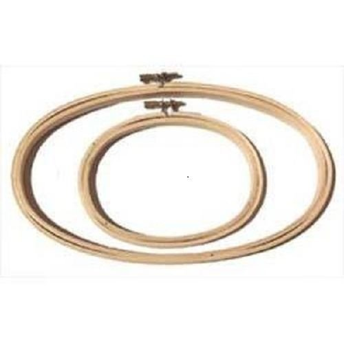 """Oval Embroidery Hoop - 5"""" x 9"""""""
