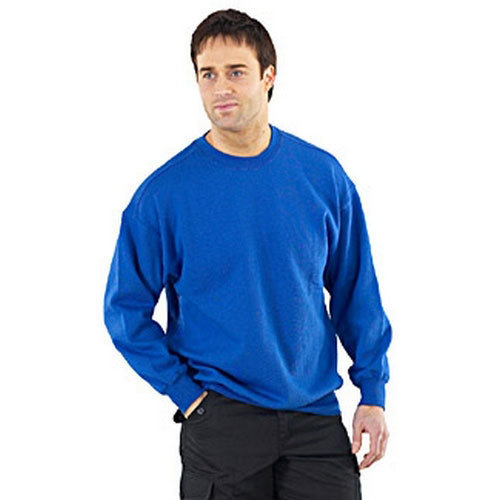 Click CLPCSR4XL Sweatshirt Fleece Lined Navy Blue 4XL