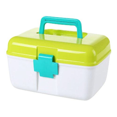 First-Aid Kits/Medicine Storage Case/Pill Box/Container-Green