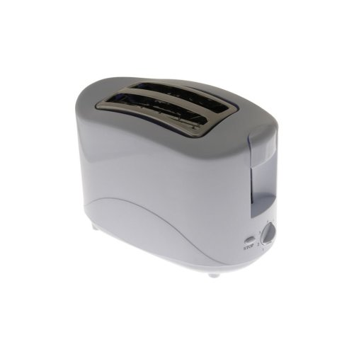 2 Slice Toaster - White