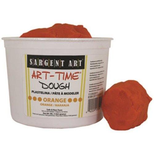 3Lb Art Time Dough - Orange