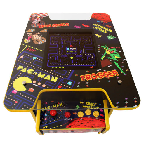 Retro Arcade Machine Coffee Table | Cocktail Table Arcade Game Machine