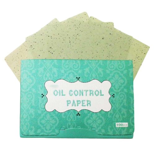 Green Tea Oil Control Paper Oil Absorbing Sheets, 300 Sheets