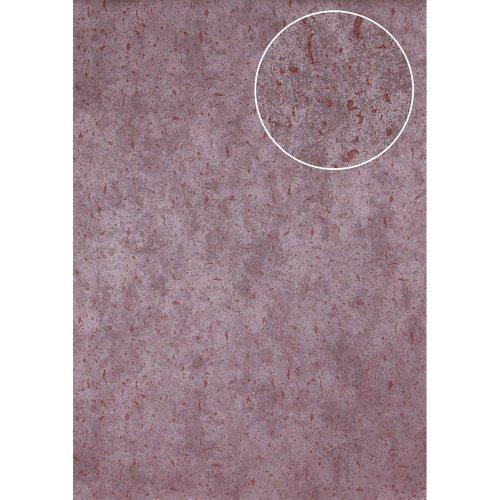 Atlas ICO-5073-8 Stone tile wallpaper shimmering wine-red 7.035 sqm