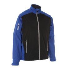 ProQuip Golf Mens Aquastorm PX1 Waterproof Rain Jacket Full Zip Surf/Black Medium