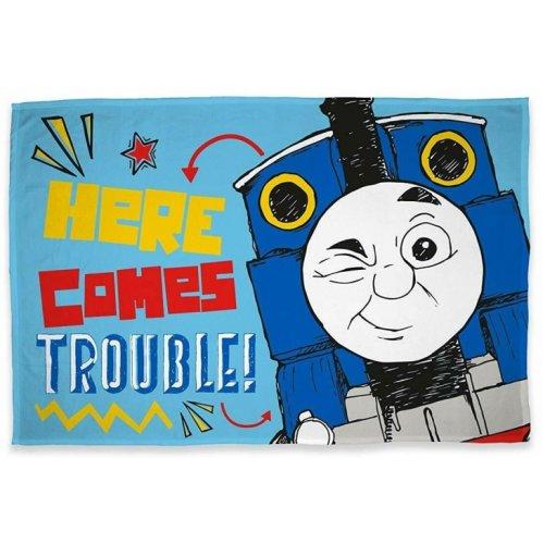Official Thomas The Tank Sketchbook Character Fleece Blanket Throw
