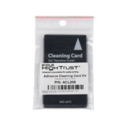 Evolis ACL006 ACL006 Adhesive Cleaning Card ACL006