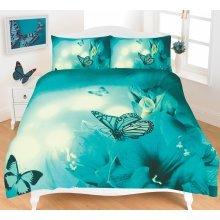 Butterfly 3D Effect Duvet Cover Bedding Set