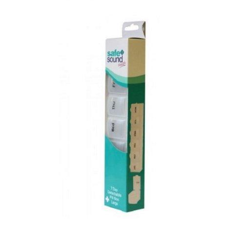 Safe & Sound 7 Day Detachable Large Pill Box