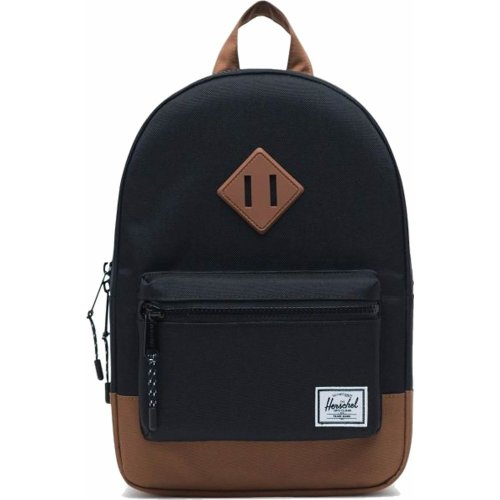 Herschel Heritage Kids Backpack (Black/Saddle Brown)