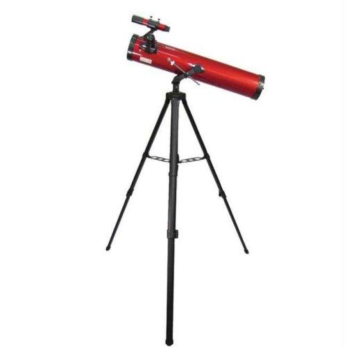 CARSON RP-100 REDPLANET 35-78 X 76MM NEWTONIAN REFLECTOR TELESCOPE