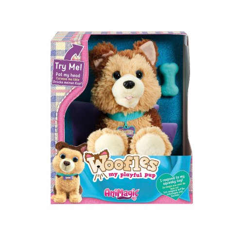 Animagic 'Woofles' My Playful Puppy, Interactive Real Life Like Pet Dog