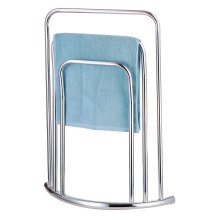 2131e01ea7 Curved Towel Holder Stand Three Tier Free Standing Bathroom Rail 3 Bar