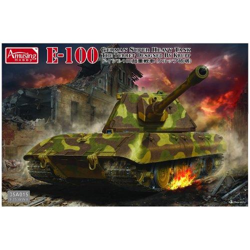 1:35 German Super Heavy Tank E-100 Military Model Kit