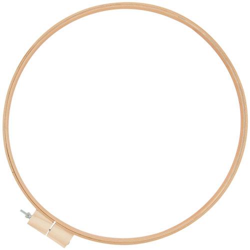 """Wood Quilt Hoop 18""""-.75"""" Depth"""