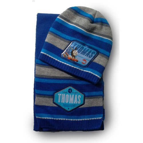 Thomas Hat and Scarf - Blue