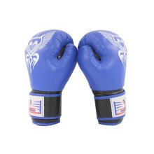Cool Boxing Fighting Gloves Sanda Training Gloves BLUE, 10 Ounce