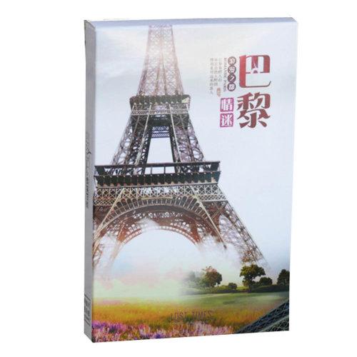 Paris Beautiful Views Postcards Set of 30