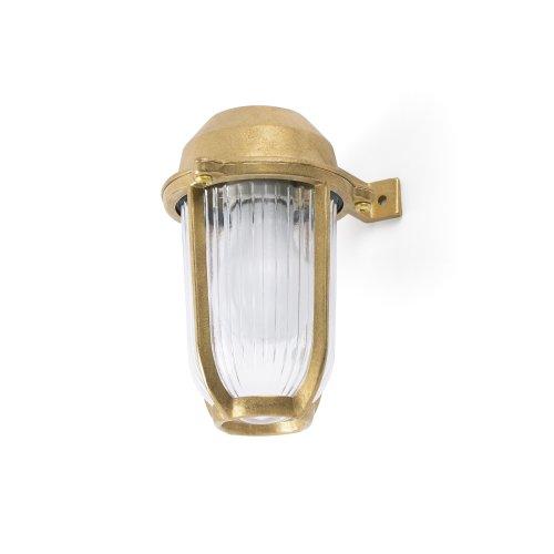 Faro - Borda Brass Outdoor Wall Light FARO70997