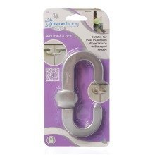 Dreambaby Child Cupboard Lock 6 Pack Silver
