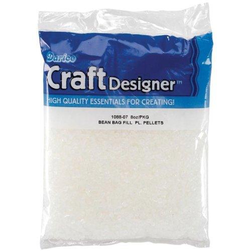 Darice Beanbag Filler Plastic Pellets-8oz