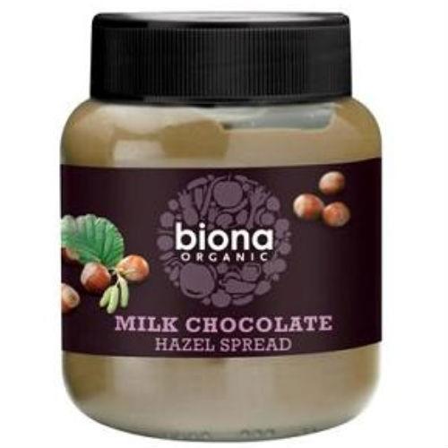 Biona Organic Milk Chocolate Hazelnut Spread 350g