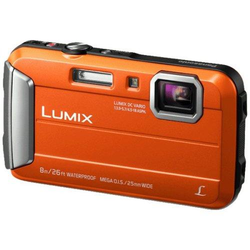 "Panasonic Lumix DMC-FT30 16.1MP 1/2.33"" CCD 4608 x 3456pixels Orange"