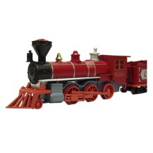 Simulation Locomotive Toy/Simulation Train Toy, Red(29.5*3.7*7.7CM)