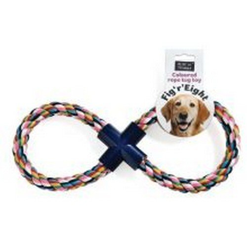 Ruff N Tumble Fig R Eight Rope Dog Toy