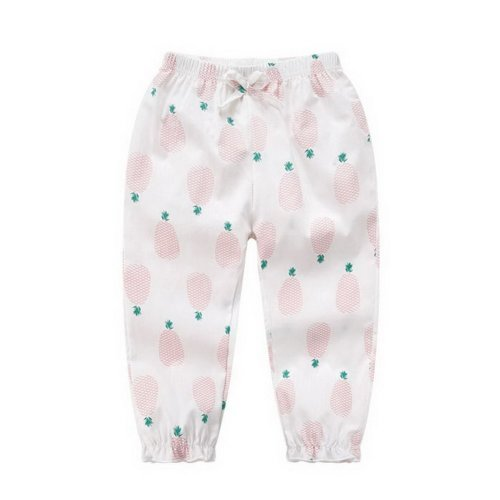 Comfortable Soft Children's Trousers, Red And White