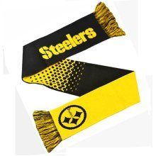 Pittsburgh Steelers Scarf Fd - Nfl Official American Football Fade Winter -  steelers nfl scarf pittsburgh official american football fade winter
