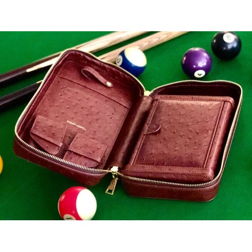Luxury Cigar Leather Travel Case Humidor