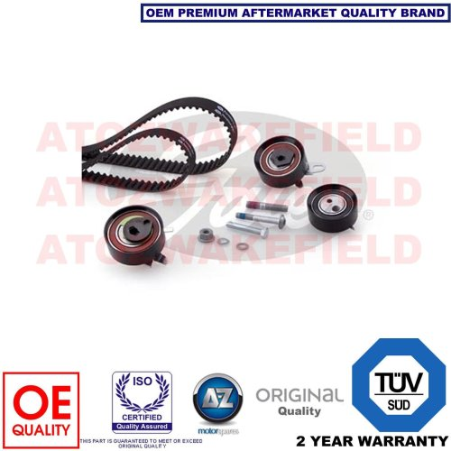 FOR VW LT TRANSPORTER 2.5 TDi GENUINE GATES TIMING CAM BELT TENSIONER KIT SET