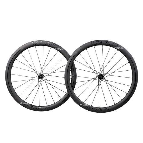 ICAN AERO 45 Disc DT CenterLock Carbon Wheels