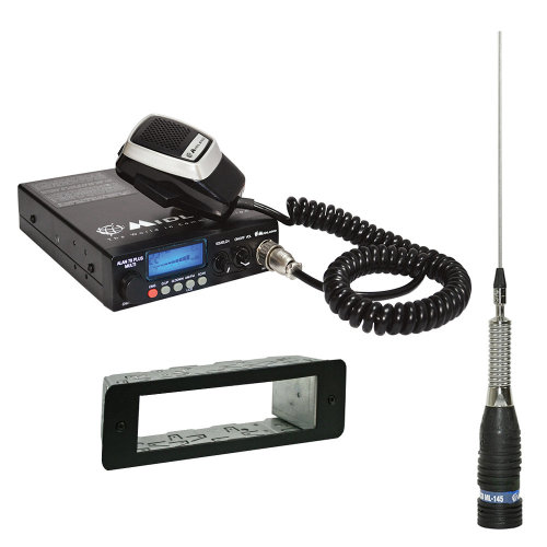 Midland Alan 78 CB Radio  + 1 DIN + CB antenna without cable