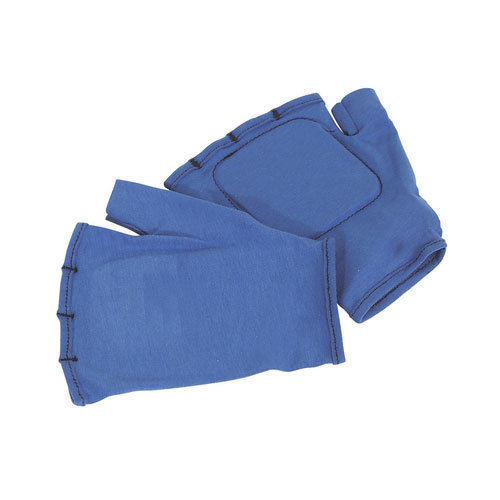 Sealey SSP42 Fingerless Vibration Absorbing Safety Gloves - Large