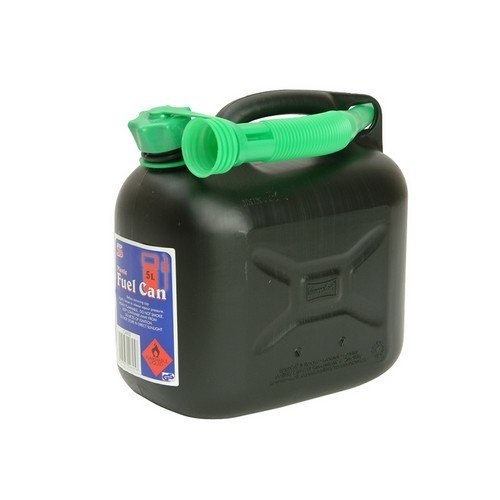 Silverhook CAN3 Diesel Fuel Can & Spout Black 5 Litre
