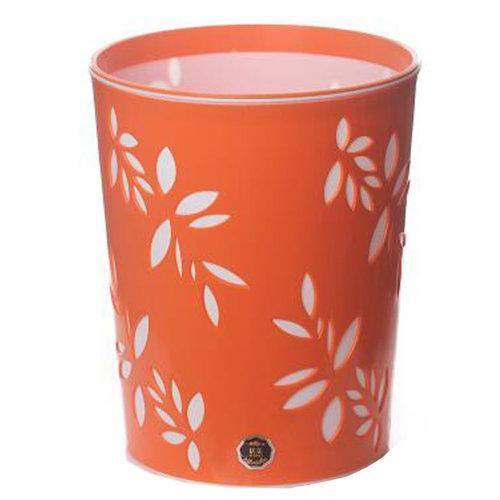 Desktop Waste Basket Office Kitchen Storage Barrel Waste Bin Orange