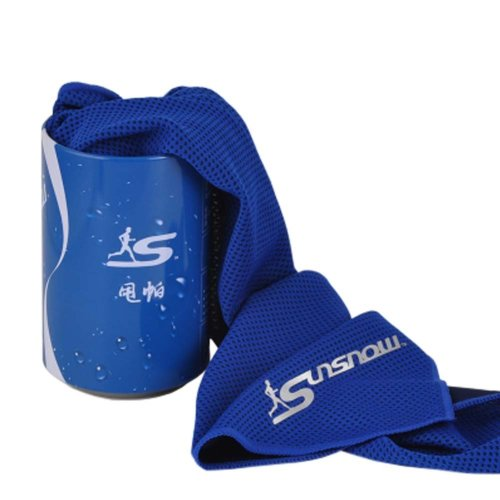 Cold Quick-drying Towel Lightweight Travel Towel Cool Sports Towels With Can, #09
