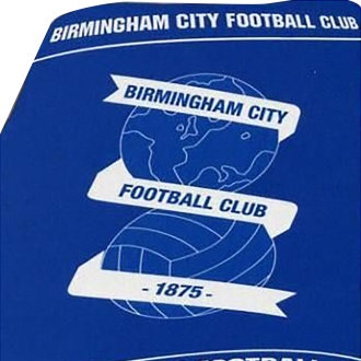 Birmingham City Football Club Childrens/Kids Fleece Blanket