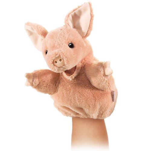 Hand Puppet - Folkmanis - Little Pig New Animals Soft Doll Plush Toys 2967