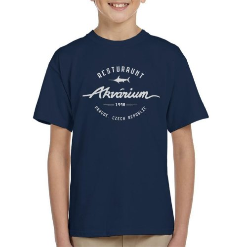 Akvarium Restaurant Mission Impossible Kid's T-Shirt